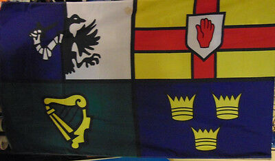 Irish flag Four Provinces Ulster Leinster Connacht Munster heritage Ireland