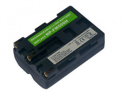 Battery for SONY SLT-A77V SLT-A77VK SLT-A77VQ NP-FM500H Alpha DSLR A500 A550