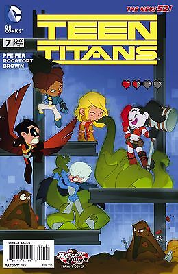 Teen Titans #7 Sean Cheeks Galloway Harley Quinn Variant DC First Print Comic NM
