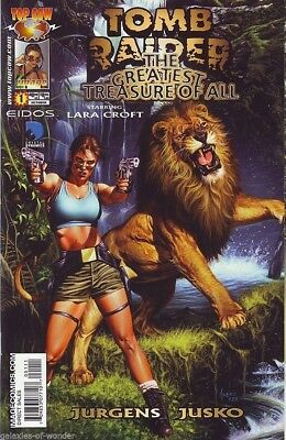 Tomb Raider : The Greatest Treasure of All #1 (one-shot) Image Comics