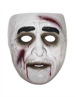 Adult Mens Male Zombie Undead Corpse Vinyl Costume Mask