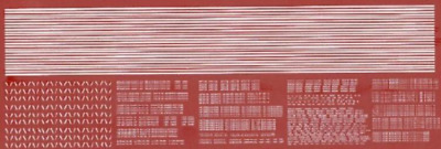 HMRS 26P OO Gauge BR Revenue Lettering Pre-Tops (Instructions) Pressfix Transfer