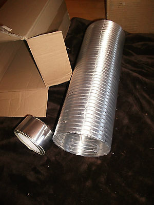Cooker Hood Hose extension kit 125mm Complete With Tape