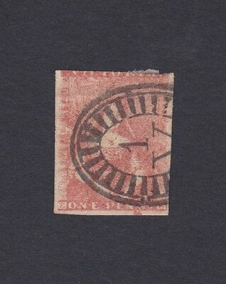 Victoria 1850 issue SG8 Fine Used, One Penny