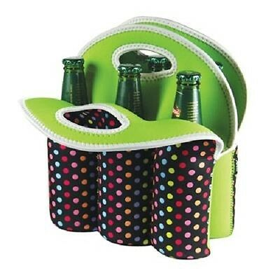Avanti Six Pack Bottle Carrier Tote Calypso