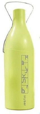 SkyBar Insulated Traveller Wine Bottle Container Carrier Green