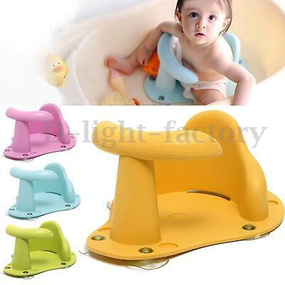 Safety 1st Baby Bath Seat Ergonomic Baby Bathing Chair Support 4 Color