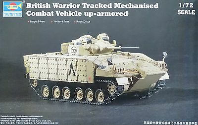 TRUMPETER® 07102 British Warrior up-armored in 1:72
