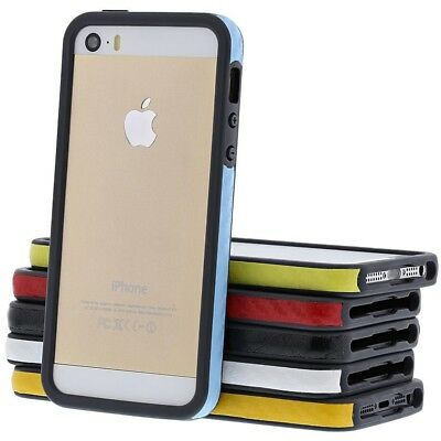 Lot of 6x MultiColor Slim Lightweight Bumper Case Cover for Apple iPhone SE 5S 5