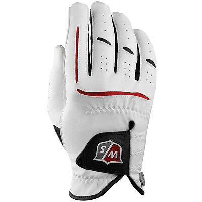 Wilson Staff 2017 Mens Grip Plus Golf Glove Synthetic - RH - Multi Pack Options