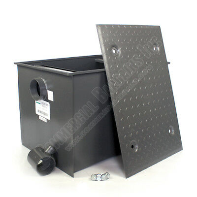 WentWorth 100 Pound Grease Trap Interceptor 50 GPM Gallons Per Minute WP-GT-50
