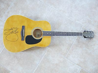 Garth Brooks Acoustic Body Signed Autographed Guitar PSA Certified