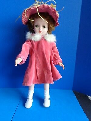 "MADAME ALEXANDER 17"" HARD PLASTIC DOLL- CISSY FACE- 1950s"