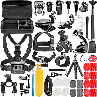 Neewer 58-In-1 Essential Outdoor Sport Accessory Kit for GoPro UD#15