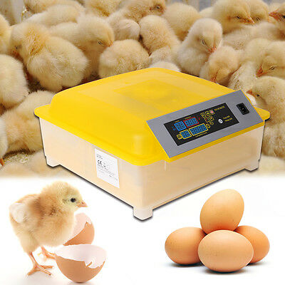 Egg Incubator Hatcher 48 Digital Control Auto Turner For Chicken Duck Fowl Eggs
