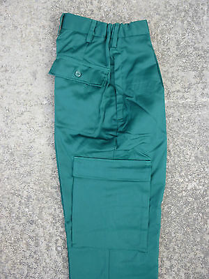 NHS Female Paramedic Medic St Johns Ambulance Cargo Combat Trousers Green FP2 D5