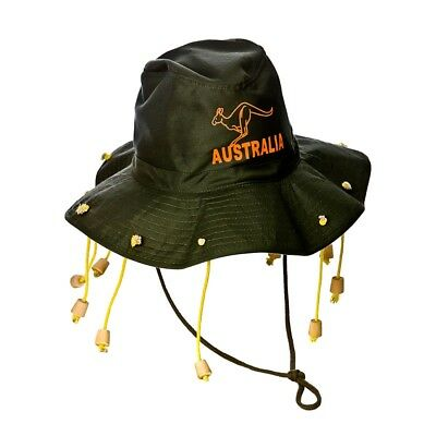 Fancy Dress Australian Aussie Hat with Corks Ozzie Cork Hats Bulk 5//10//15//20