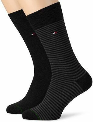Tommy Hilfiger - Chaussettes - Homme - Noir (Black) - FR: 39-42 (Taille NEUF