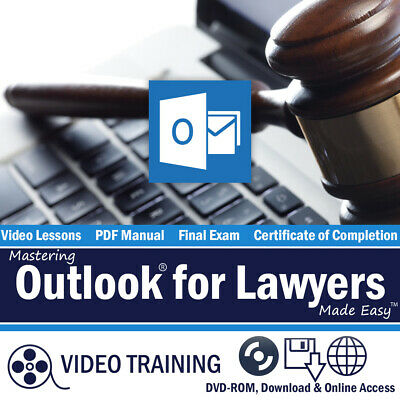 Learn Microsoft OUTLOOK FOR LAWYERS 2016 & 2013 Training Tutorial Course OKC