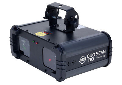 American DJ DUO709 DUO SCAN RG Dual Scanning Lasers W/ Red & Green Patterns
