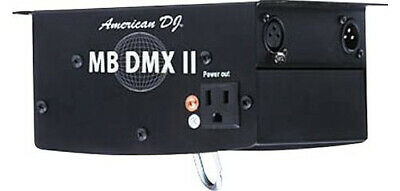 American DJ MB-DMXII Heavy Duty Dmx Mirror Ball Motor With 3-Prong Socket New