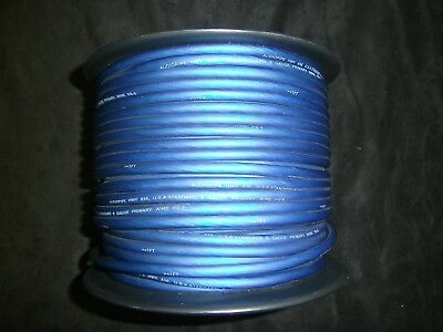 8 Gauge Wire Per 5 Ft Awg Cable Blue Super Flexible Primary Stranded Power Grnd