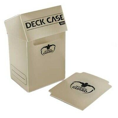Ultimate Guard 80+ Standard Size Deck Box - Sand - UGD010293