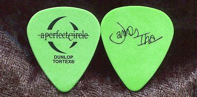 A PERFECT CIRCLE 2004 Tour Guitar Pick JAMES IHA custom stage PUMPKINS #2