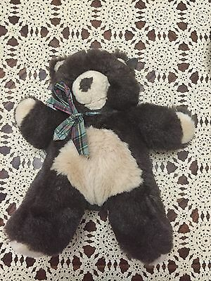 Princess Soft Toys Plush Teddy Bear Dark  Brown Stuffed Animal 13""