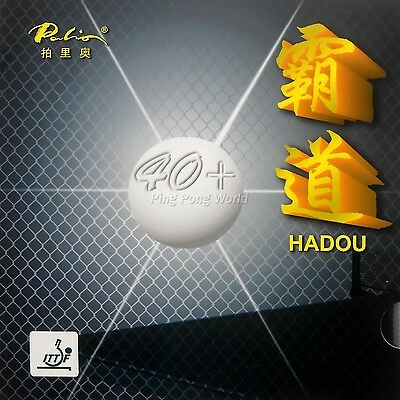 Palio HADOU 40+ Pips-in Table Tennis (PingPong) Rubber With Sponge