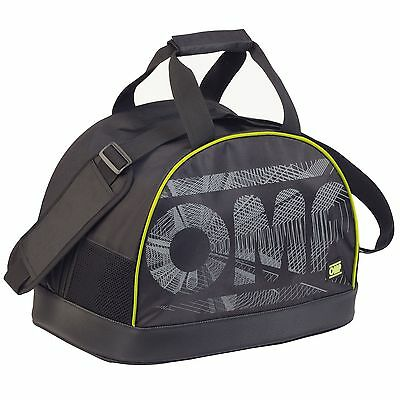 OMP HANS Rally/Racing/Race/Motorsport Helmet/Lid Carry Luggage Bag In Black/Grey