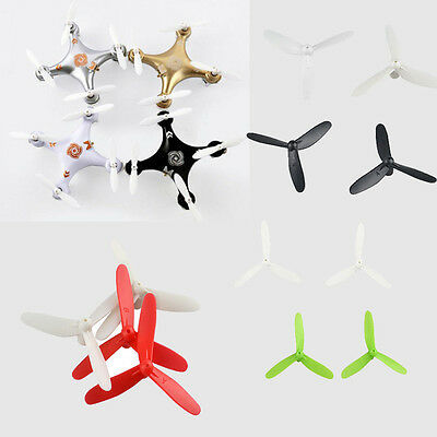 Cheerson Upgraded 3-Leaf Propellers Prop For CX-10 CX-10A RC Quadcopter Accs