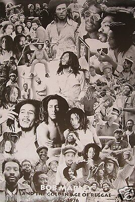 """Bob Marley """"golden Age Of Reggae 1975 - 1976"""" Poster From Asia"""