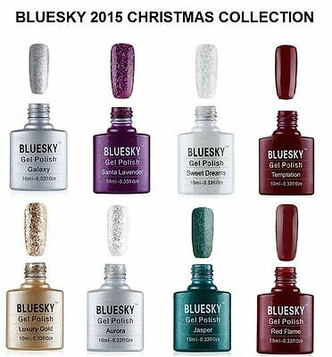 Bluesky Christmas Collection KS RANGE UV/LED Soak Off Gel Nail Polish 10ml