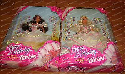 1995 Barbie Doll Happy Birthday Set (14649, 14663) Prettiest Present of all! (2)