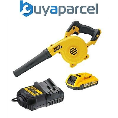 Dewalt DCV100D1 18v XR Compact Leaf Blower DCV100 + 1 x 2.0ah Battery + Charger
