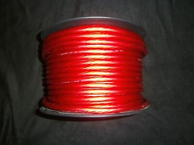 4 Gauge Wire 100 Ft Awg Cable Red Super Flexible Primary Stranded Power Ground