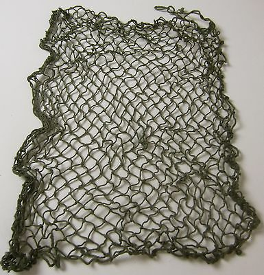 "Wwii Us Army Or Marine Infantry & Airborne M1 Steel Helmet Net -Od ""green"""