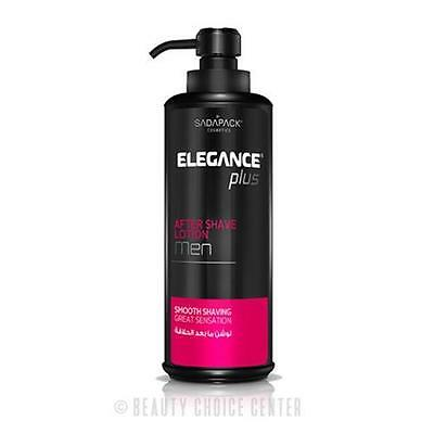 Elegance Plus After Shave Lotion for Men 500ml 16.7oz PINK