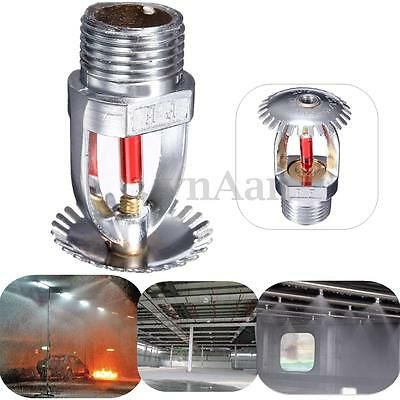 68℃ Upright Fire Sprinkler Spray Head For Fire Extinguishing System Protection