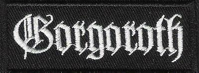Small patch embroidered / Petit écusson thermocollant , Gorgoroth