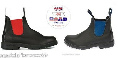 Blundstone 508 515 Booties Black Leather with Elastic Boots Shoes Boots