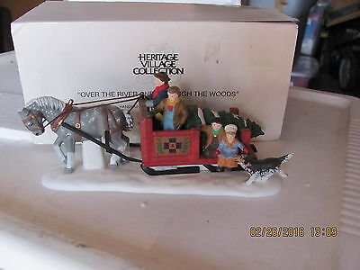 Dept 56:Heritage Village Collection:Over the River and Through the Woods #56545