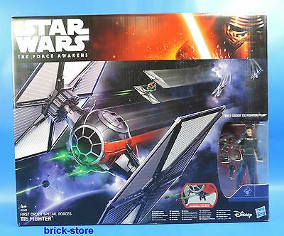 Hasbro Star Wars  Firsr Order Special Forces /  B3920 / Tie Fighter  Mit Pilot