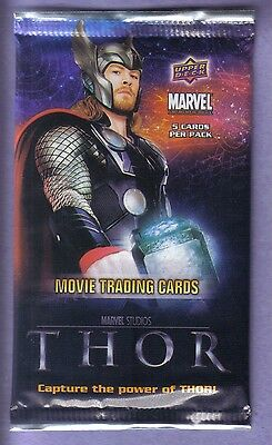 2011 Upper Deck MARVEL Thor Movie Trading Cards Pack!