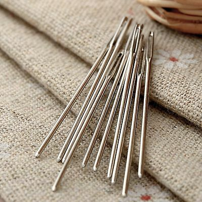 20PCS Knitters Wool Needles Large Eye For Threading Darning Sewing Embroidery