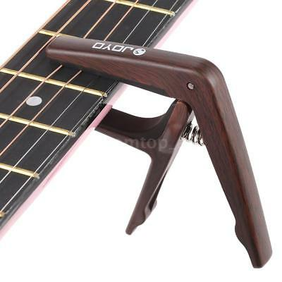 JOYO JCP-01 Light Capo Quick Change Clamp Key for Acoustic Electric Guitar B8Y0