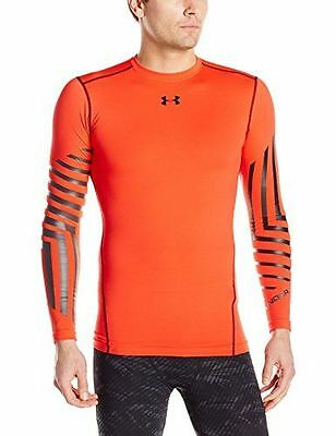 Under Armour Cg Graphic Crew Première couche Homme Rocket Red FR : S NEUF