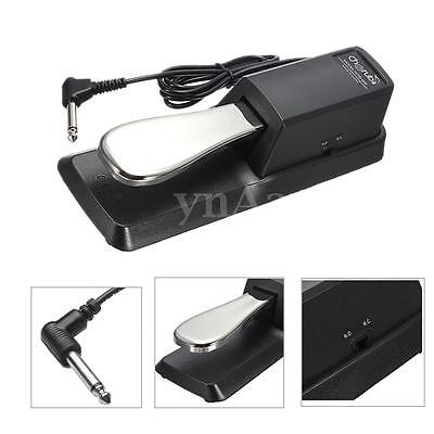 Keyboard Digital Piano Damper Sustain Foot Pedal For Yamaha Casio Roland Korg