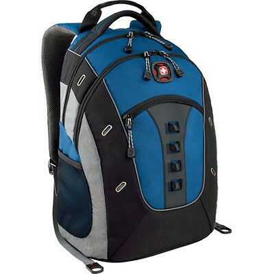 "SwissGear Granite Deluxe 16"" Laptop Backpack - Blue/Black"